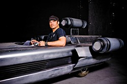 Robert Rodriguez at Troublemaker Studios