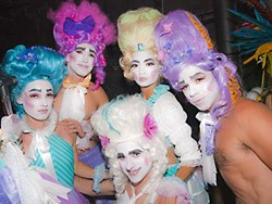 Performers from The Dream, the final act of Coco Coquette's latest extravaganza