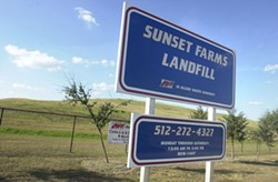 Sunset Farms Landfill may be closing its doors, but its owners hope to stick around.