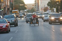 Council will consider extending a moratorium on issuing additional pedicab permits.