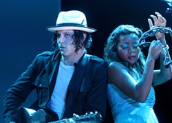Jack White at Austin City Limits Music Festival, October 13, 2012