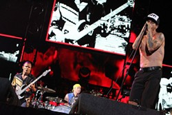 Red Hot Chili Peppers at Austin City Limits Music Festival, October 14, 2012