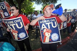 From an ATU rally in 2011