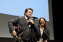 Nick Offerman at the SXSW 2012 premiere of <i>Somebody Up There Likes Me</i>