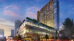 Rendering of the proposed Downtown Marriott