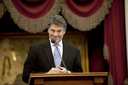 Gov. Rick Perry: equal opportunity bill killer