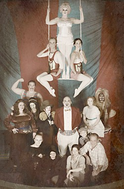 Direct your attention to the center ring: the cast of <i>The Circus</i>