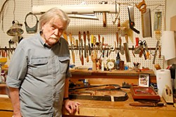 The Craftsman: Guy Clark in his Nashville workshop