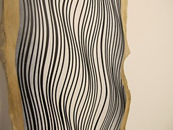 <i>Follow the Curves</i> (detail), by Jason Middlebrook