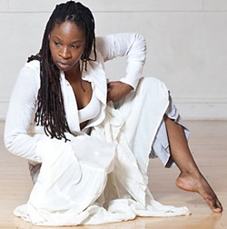 Don't miss Ni'Ja Whitson dance at the Orita Project (see Saturday).