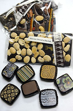 Samples from the Chocolate Makers Studio