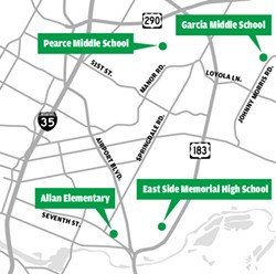 Three Plans for Four Eastside Schools