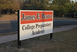 Pearce Middle School is set to become a girls' school.