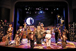 A chorus fe-line: the cast of Georgetown Palace Theater's <i>Cats</i>