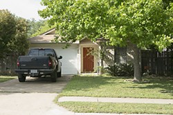 Sylvia Holt's South Austin home, scene of her murder