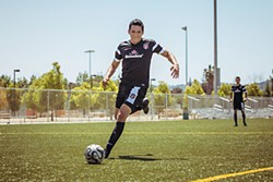 Kicking it for the CIA: Gabriel Luna as an undercover agent/soccer player in <i>Matador</i>