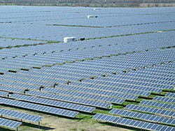 Austin Energy's 30-megawatt solar farm near Webberville opened in 2012.
