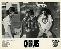 Back in the Nineties, even noiseniks like Cherubs had a promotional 8x10.