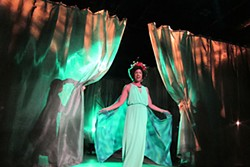 It is easy being green: Jomama Jones as Ozma