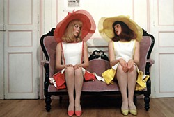 Sister Act: Catherine Deneuve (l) and her late sister Fran&ccedil;oise Dorl&eacute;ac in <i>The Young Girls of Rochefort</i>
