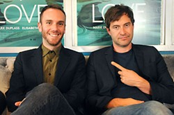 Charlie McDowell (l) and Mark Duplass