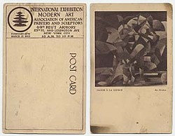 Souvenir postcards from the 1913 Armory Show