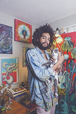 Muralist Most Likely to Bring Back the Age of Aquarius: Rex Hamilton