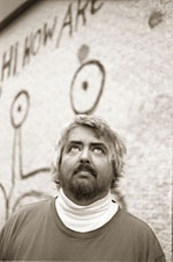 Sxsw music spotlight daniel johnston 1am maggie mae 39 s for Daniel johnston mural austin