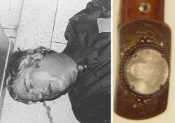 Reyos' supporters suspect that this man, who commited suicide inside the Sacred Heart Catholic Church in Boise, Idaho, in December 1982, is quite likely connected to, or in fact responsible for, the murders of Fathers Patrick Ryan in Odessa and Benjamin Carrier in Yuma, Ariz. Although Boise Detective Frank Richardson traced the dead man's distinctive belt buckle back to one Arizona gift shop, investigators have never been successful in identifying the man who remains known only as the Boise John Doe.