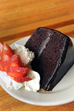 Best Vegan Lasagna: Mother's Cafe & Garden