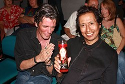 Hold a Candle to Willie: Charlie Sexton (l) and Alejandro Escovedo