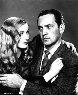Fredric March with Veronica Lake