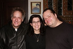Texas Troika: (l-r) Griff Luneburg, Susan Svedeman, and Chris Lueck. Between the three staffers, they have almost 70 years invested at the Cactus Cafe.