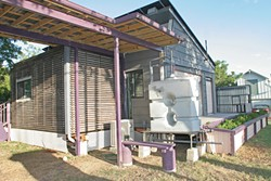 An assortment of solar-related bills filed recently could lead to more solar-powered homes, like this one in East Austin.