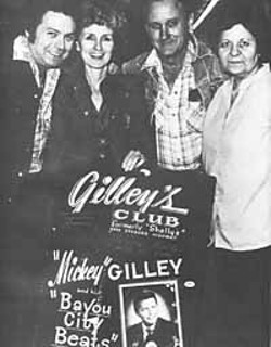 L-r: Mickey and Vivian Gilley, Sherwood Cryer, Minnie Elerick