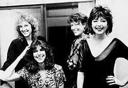 Sarah Brown, Marcia Ball, Angela Strehli, and Lou Ann Barton