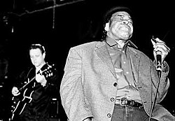 James Cotton with Jimmie Vaughan at Antone's, January 5