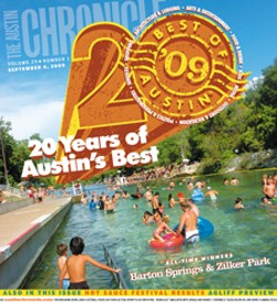 Best of Austin 2009 Cover