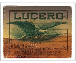 Lucero poster from the Decoder Ring