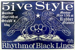 5ive Style poster from Obsolete Industries
