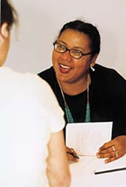 bell hooks in a light, carefree mood
