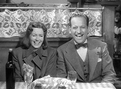 Greta Garbo and Melvyn Douglas in 1939's <i>Ninotchka</i>