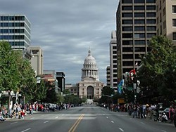 "If Congress Avenue evolves into one of the ""great urban boulevards,"" it could become a vibrant destination point every day of the week – as it did for this particular event."