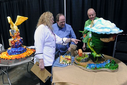 Cake Decorating Competition Show : That Takes the Cake Sugar Art Show & Cake Competition ...