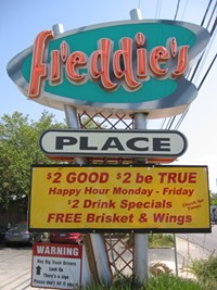 Freddie's Place CLOSED
