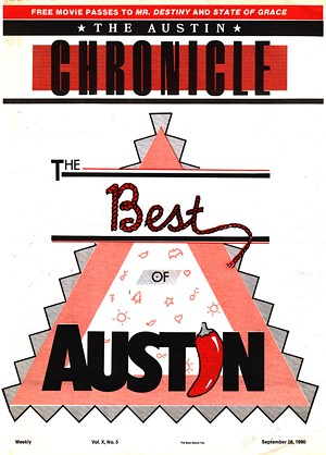 Best of Austin 1990 Cover