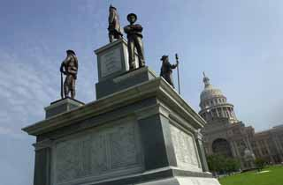 While monuments to blacks are slow in coming to the Capitol, those who fought to enslave them have been memorialized for years with the Confederate War Heroes statue.