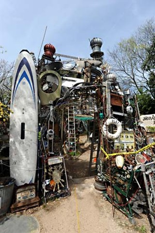 The Cathedral of Junk as it once was