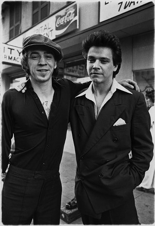 Family style: Jimmie and Stevie Ray Vaughan (l), 1978