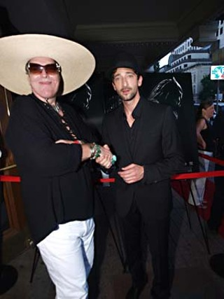 Your Style Avatar worships at the altar of Adrien Brody during the Austin Film Society's world premiere of Robert Rodriguez's <i>Predators</i> at the Paramount.